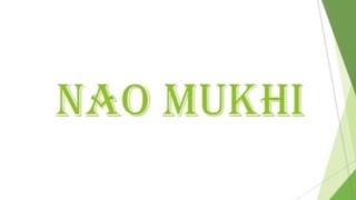 NAO MUKHI (Sindhi Film )