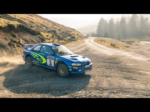 WRCで活躍したスバル インプレッサ GC8 WRC2000(S6)。藤原文太も愛したGC8の魅力的に走行する動画