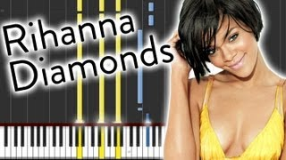 Gambar cover Rihanna - Diamonds - Easy Piano!