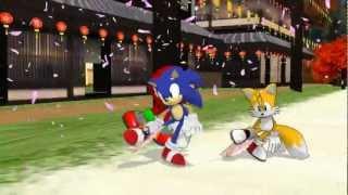 [MMD] Team Sonic - Senbonzakura / Thousand Sakura / 千本桜