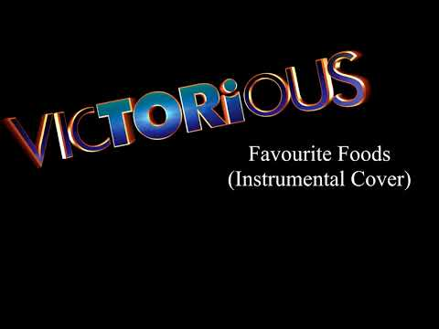 Victorious Favourite Foods (Diddlybops Song) | Instrumental Cover