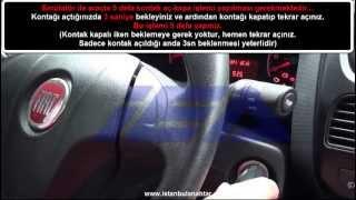"""Yeni Fiat DOBLO """"46 Çip"""" - """"Emülatör: 3 46 Çip Pcf 7946/47""""  Kumandalı Anahtar Kopyalama İşlemi"""