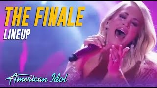 American Idol FINALE Linup! Which Performance Are You MOST Looking Forward To?
