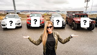 BUYING MY WIFE A NEW CAR!  WHAT SHOULD SHE GET?