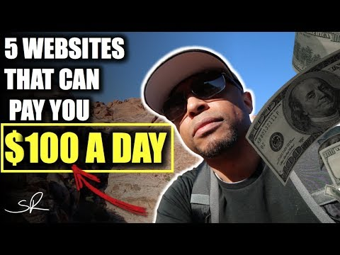5 Websites To make $100 A Day Online | How To make Money Online