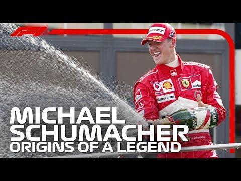 Michael Schumacher  Origins of a legend   YouTube