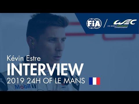Kévin Estre ahead of the 2019 24H of Le Mans