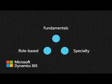Microsoft Certifications for Dynamics 365 - YouTube