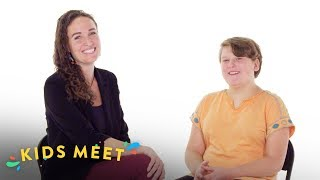 Young Lesbian Meets a Former Member of the Westboro Baptist Church | Kids Meet | HiHo Kids