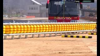 Trafikte Can Kayıplarını Önleyen Döner Bariyer Sistemi Kullanımı Başladı