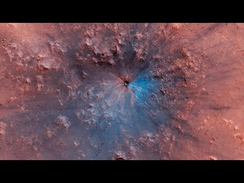 New Crater Spotted on Mars - Before and After