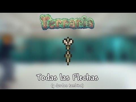 Todas las flechas (y dardos) - Terraria 1.3 [PC]