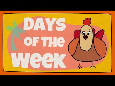 Days Of The Week Song | The Singing Walrus Mp3