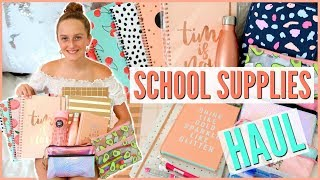 Back To School Supplies Haul 2018! Come Shopping With Me - Millie and Chloe - Video Youtube