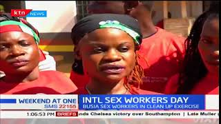 Commercial sex workers mark the International sex workers day in Busia County