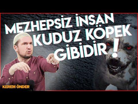 Mezhepsiz adam, kuduz köpek gibidir! Hangi ayeti, hangi sünneti ısıracağı belli olmaz! / Kerem Önder