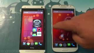 Google Play edition Galaxy S4 and HTC One