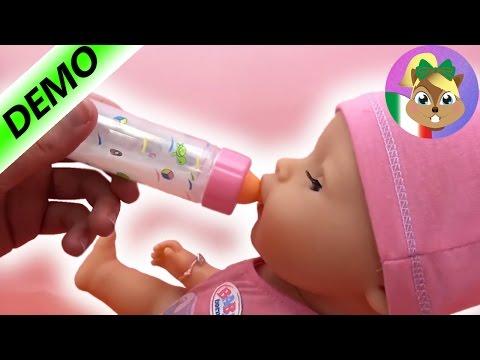 Baby Born Bambola giocattoli – Magico biberon per bambole / magico biberon con latte