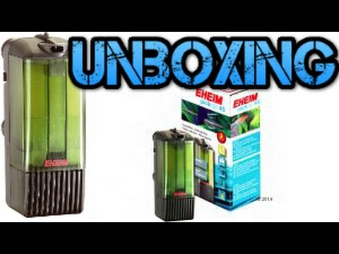 Unboxing filtro Eheim pick up 160-Rincon animal