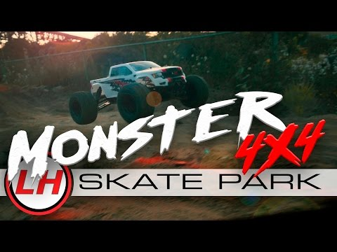 LiteHawk MONSTER 4x4 | Off-Road Skate Park Adventure