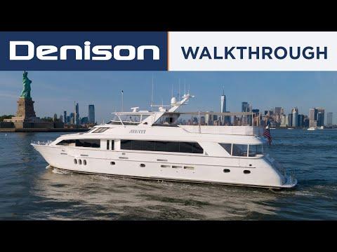 Hatteras 100 Motor Yacht video