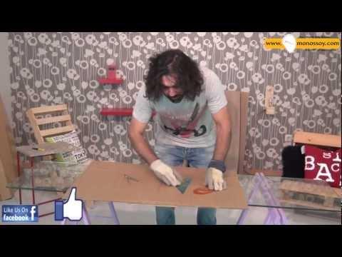 Φτιάξτο μόνος σου: καρέκλα από χαρτί