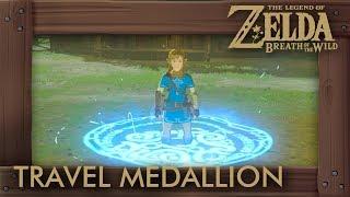 Zelda Breath of the Wild - Travel Medallion Location