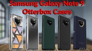 Samsung Galaxy Note 9 Otterbox Cases - YouTube Tech Guy