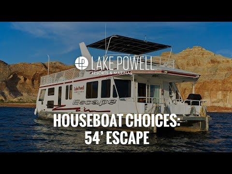 Luxury Class 54' Escape Houseboat Video