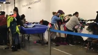 """Inside the New York Goodwill Outlet Store - """"The Bins"""" with Haul For Selling on eBay"""