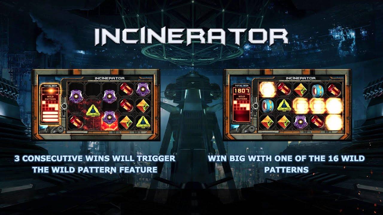 Incinerator från Yggdrasil Gaming