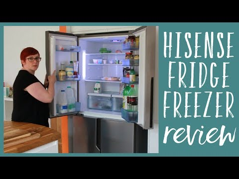 Hisense American style Fridge Freezer review