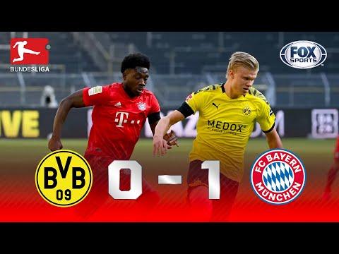 GOLAÇO E LIDERANÇA! Melhores momentos de Borussia Dortmund 0 x 1 Bayern de Munique pela Bundesliga