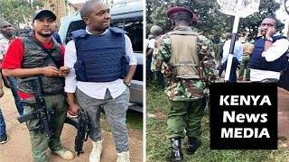 Steve Mbogo Heavily Armed At DusitD2 Hotel Attack Explains His Role!!!