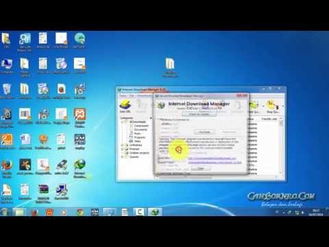 Video Cara Instal internet download manager IDM 6.28 Build 16 Full tanpa registrasi