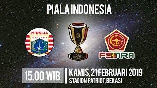 Live Streaming RCTI! Piala Indonesia Persija Jakarta Vs PS Tira, Kamis Pukul 15.00 WIB