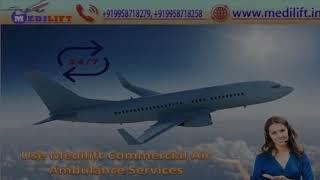 Avail the Services in Medilift Air Ambulance Varanasi