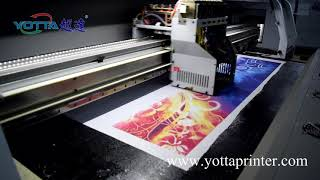 Negijet R1900 High quality Digital Textile Printer - hmong video