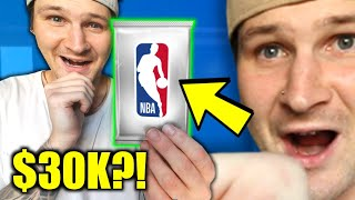 Opening THE MOST EXPENSIVE Pack Of Basketball Cards EVER...(HOW MUCH DID I MAKE?!)