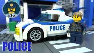 LEGO CITY POLICE High Speed Chase 60138 Stopmotion
