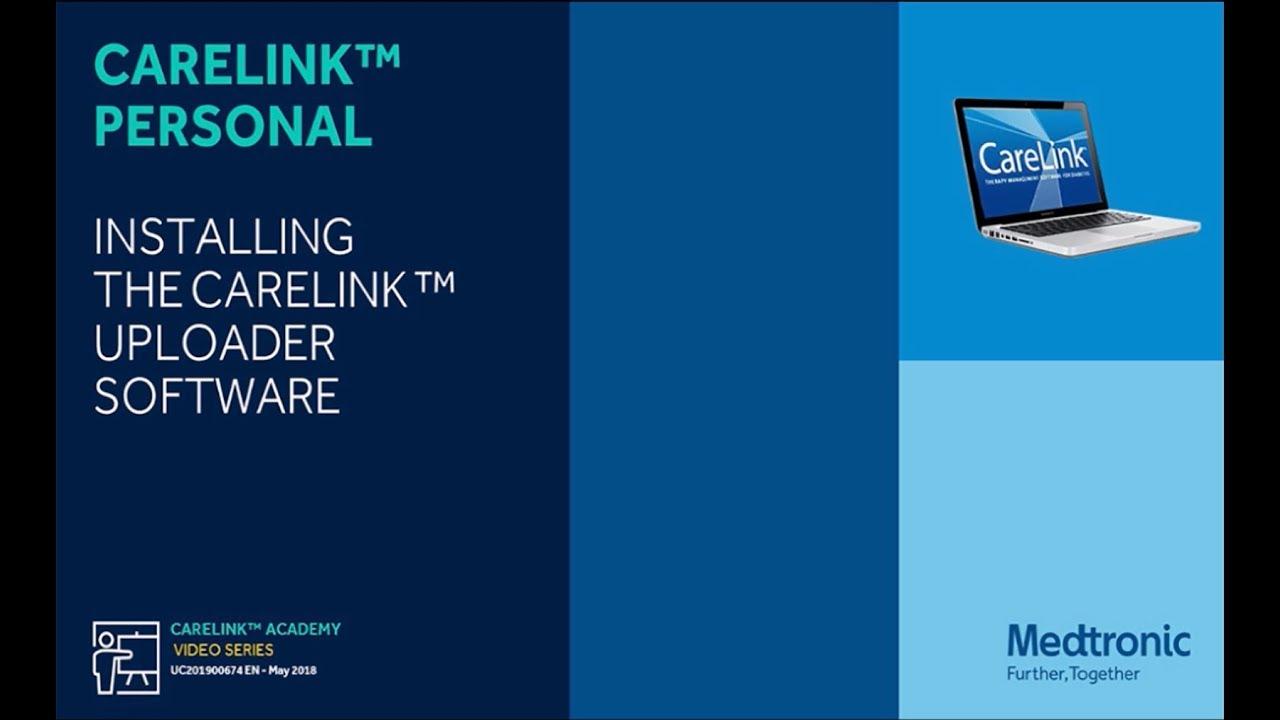 1) Skinite i instalirajte CareLinkTM Uploader na računalo koje ćete koristiti za prijenos vaših podataka