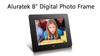 "Aluratek 8"" Digital Frame Unboxing"