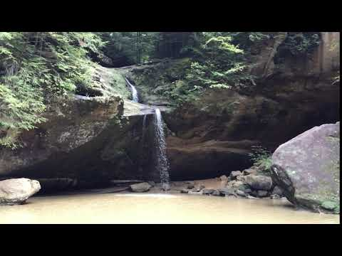 Slo-mo of the waterfall just 15 mins into the hike! Bring your flip flops for wading a bit.