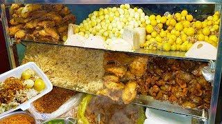 Choáng ngợp hộp xôi gà 60k 'siêu hấp hẫn' trên vỉa hè Sài Gòn | street food