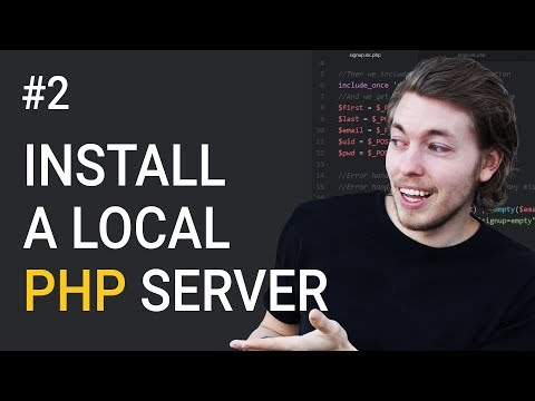 2: Installing a local server for PHP | PHP tutorial | Learn PHP programming