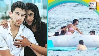 Reason Why Nick Jonas Pushed Priyanka Chopra Into The Sea | LehrenTV