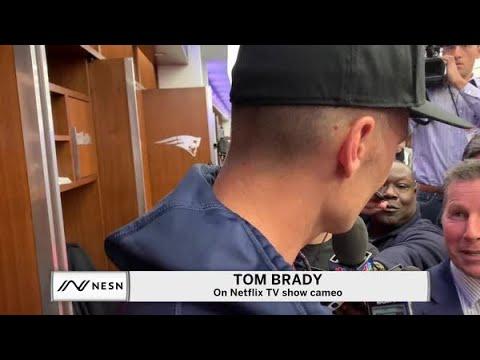 Tom Brady Responds To Criticism Of Massage Parlor Netflix Cameo