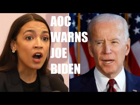 Alexandria Ocasio-Cortez WARNS Joe Biden AGAINST Appointing Corporate Democrats To His Cabinet!
