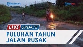 Penampakan Sejumlah Jalan Rusak di Manado, Pemerintah Belum Diperbaiki Meski Bobrok Bertahun-tahun