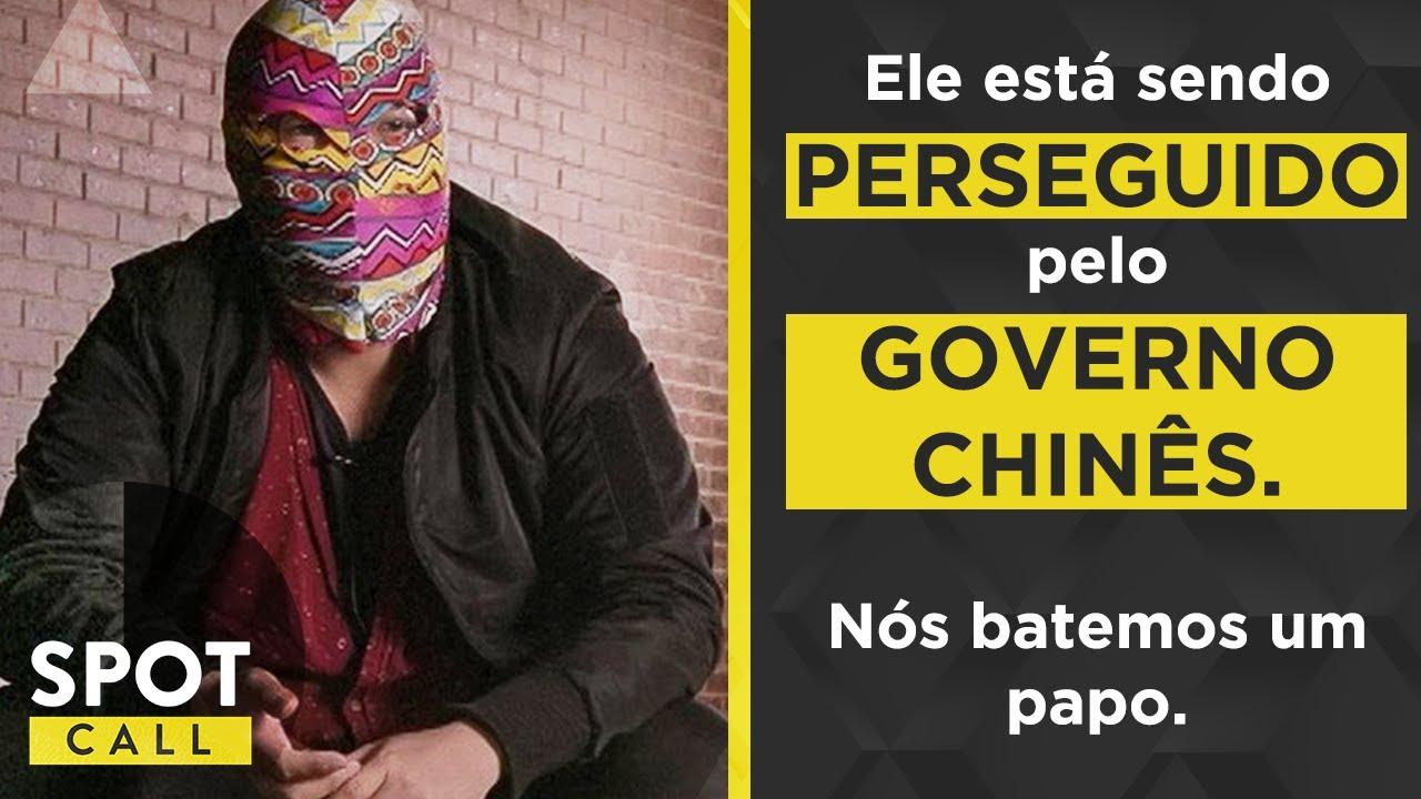 Ele está sendo perseguido pelo governo chinês, exilado na Austrália.